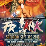 ONLY 50 tickets left !!! You dont want to pay at the door 💯 #freaknik https://t.co/HZSW316xpY