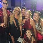 .@KimKardashian, @britneyspears & @G_Eazy hang with a @MakeAWish fan on the #VMAs red carpet. 😍 https://t.co/pO8DQ9Ov0s
