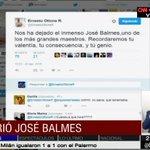 LO ÚLTIMO: Se confirma la muerte de José Balmes #CNNChile https://t.co/a9fi1RlFkX