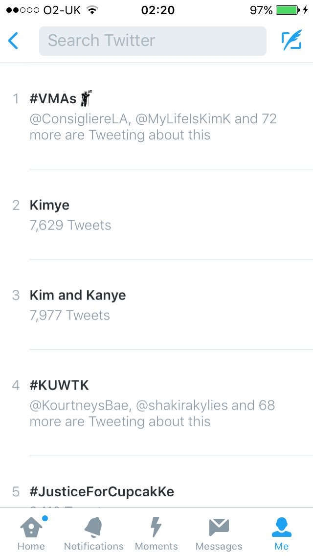 RT @Khlomoney98: Yaasss Kardashians takeover the trending list!! #KUWTK @khloekardashian @KrisJenner https://t.co/SB6LlW0YDI