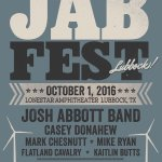 Everyone welcome @mikeryanband & @carlypearce to #JABFest https://t.co/Bsw5WxHErf