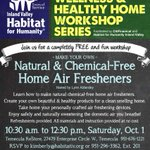 #FREE #Workshop: DIY Natural & Chemical-Free Home Air Fresheners - Sat. Oct. 1 in #Temecula (See photo for details) https://t.co/mxblQzVR8j