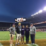 @LorasAlumni Class of 2011, 1975, 2016, and 1978, Duhawks supporting Duhawks at @SoldierField today!! https://t.co/TqrgfmmwlK
