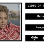 """#VMAs Video of the Year: """"Formation"""" by @Beyonce https://t.co/0uc8WNuYHl"""