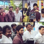 Puja of the new film ! #DJShootBegins @SVC_official @harish2you @ThisIsDSP https://t.co/NTtWUgW9M1