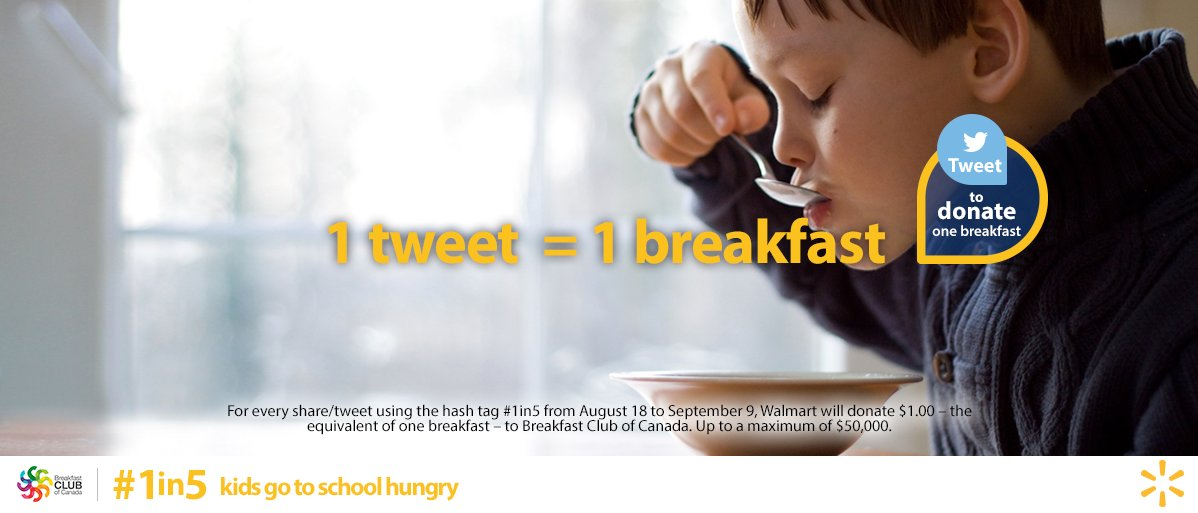No kid should go to school hungry. That's why we're donating 1 breakfast to @BreakfastCanada for every RT this #BTS https://t.co/OYh4GbSrD9