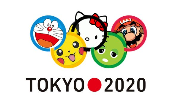 Vazou a marca não-oficial de Tóquio 2020. https://t.co/8rIW3Dcn2I