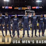 The #USABMNT has won their THIRD STRAIGHT #Gold!!! 🏀 🇺🇸 https://t.co/5YBWPI4W3i