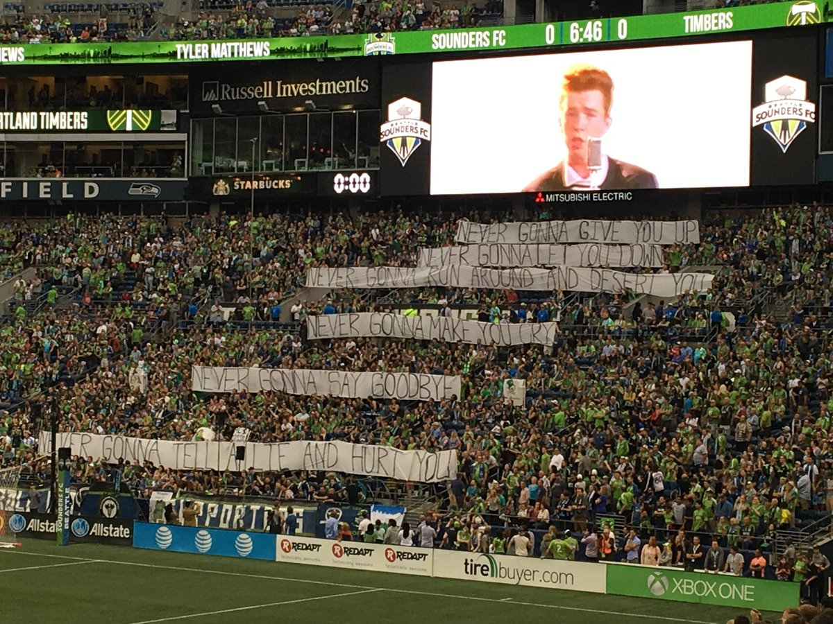 Last night, Seattle Sounders fans came up with the worst tifo in the entire history of football. https://t.co/a8HtjY6OMh