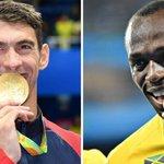 JO 2016. Michael Phelps et Usain Bolt au firmament