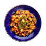 Mapo Tofu with Spring Onion and Black Beans