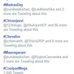 RT @Alwayssudher: #Maanagaram is Trending in Hyderabad @sundeepkishan https://t.co/Slv8ChVhxv