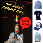 THIS weeks #BrightIdea is #PromotionalCLOTHING Brand YOUR business #PersonalisedGift #TShirts #Caps #Hoodies https://t.co/AN9RCSWGLE