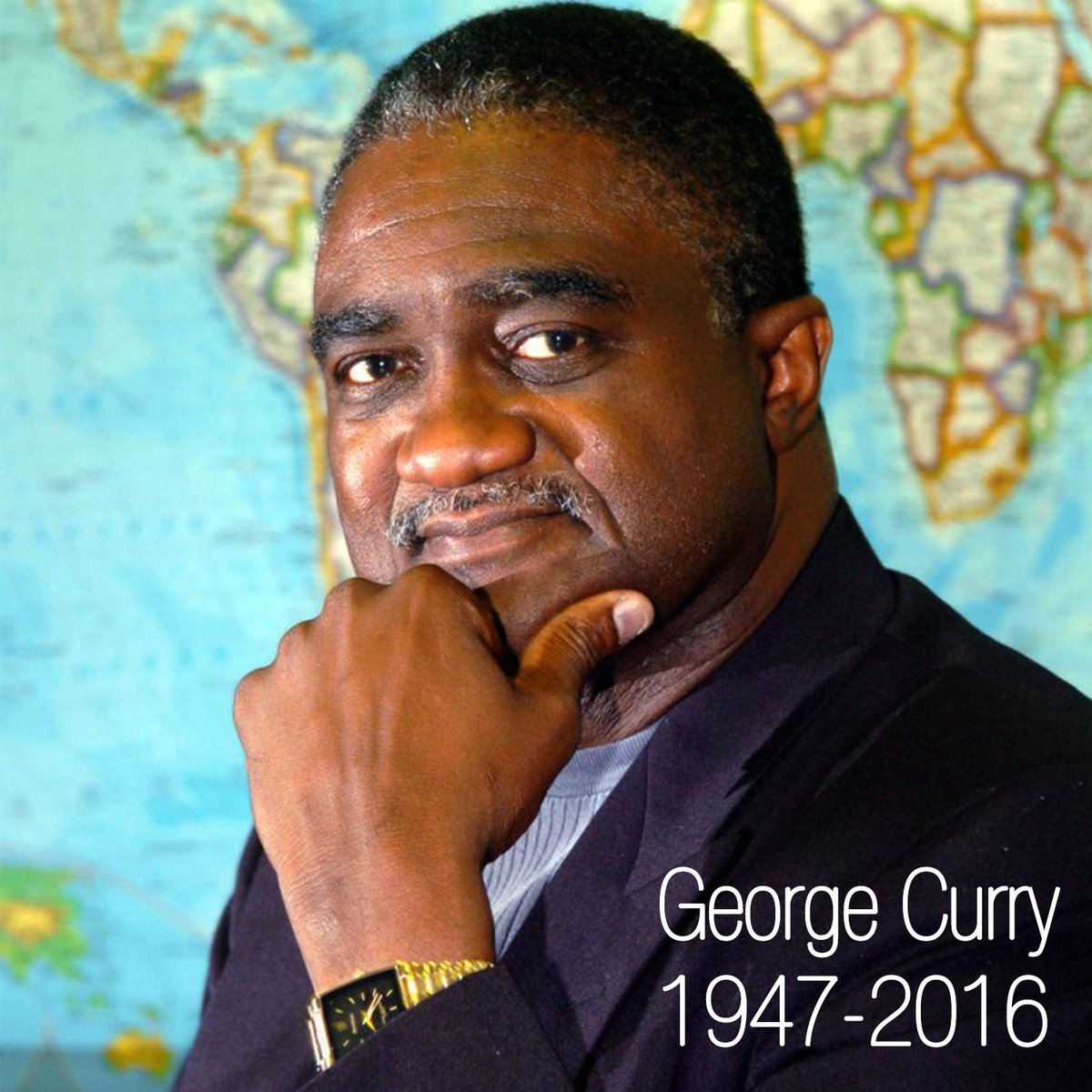 The CBCF honors legendary civil rights journalist George Curry.  Our thoughts are with his family.  #RIPGeorgeCurry https://t.co/W6QuLGJV6A