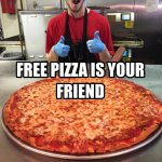 We're celebrating the first week of classes w/FREE PIZZA! At 115 RTs, someone is a winner! #MrB #WKU #BackToSchool https://t.co/Dr4zlqox6K