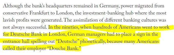 The New Yorker has a *monster* story on Deutsche Bank. A tasty detail: https://t.co/BNQuzqKshn https://t.co/wrNJdIyrZ5