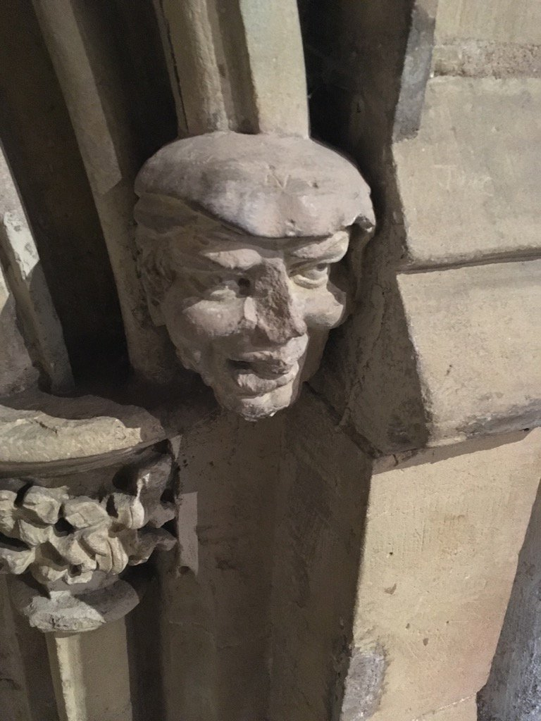 Proof of #endofdays? Donald Trump was carved as a gargoyle in Southwell Minster 700 years ago... https://t.co/jQq0ElYvjZ