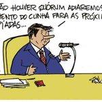 """Quando será o julgamento de Eduardo #Cunha ? Charge do """"Correio Braziliense"""" de 22/8/2016 https://t.co/hXliU41vXE"""
