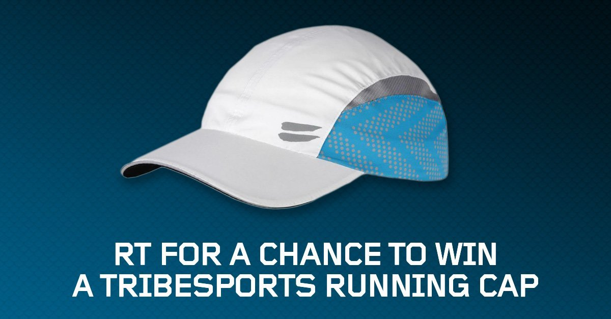 #Win a TribeSports #running cap! Retweet and follow to enter! Comp closes Monday at 6pm. #TribesportsGiveaway