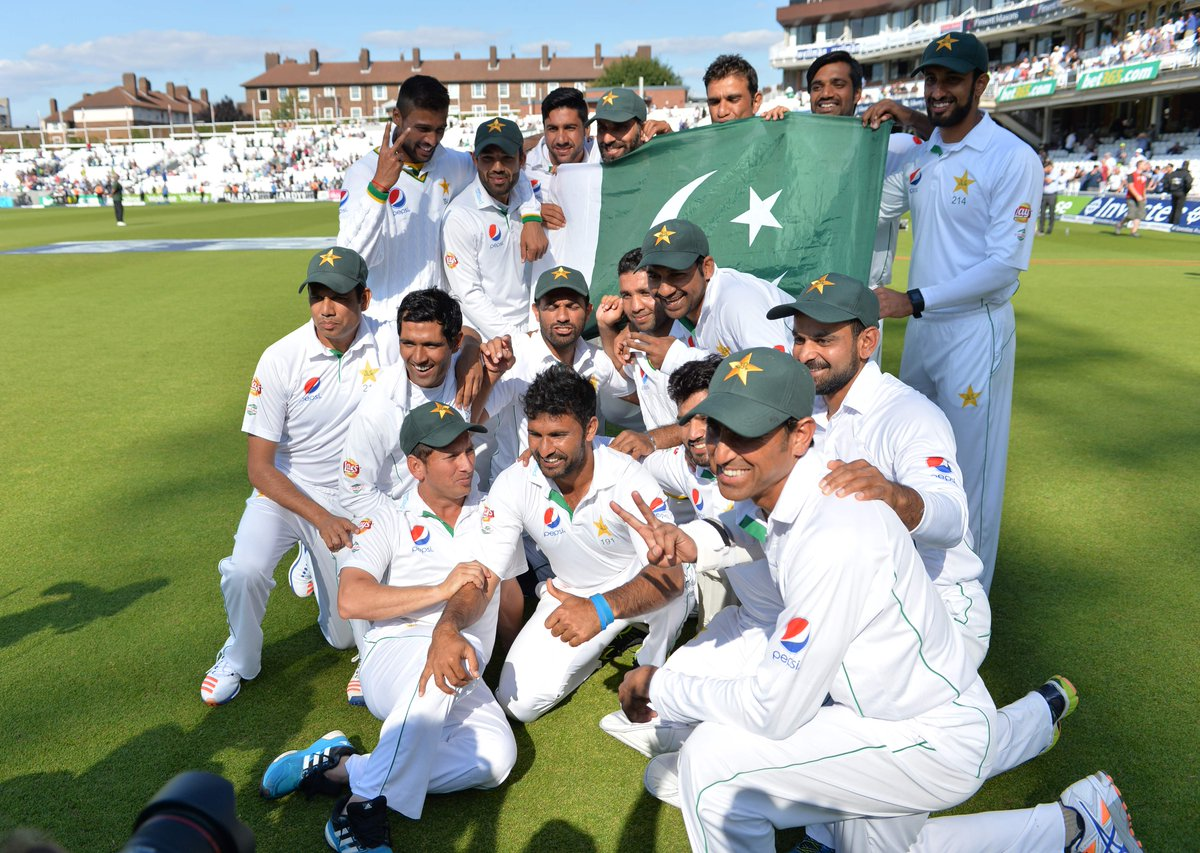 Pakistan Cricket Team Rise To No1 In The Test Rankings For First