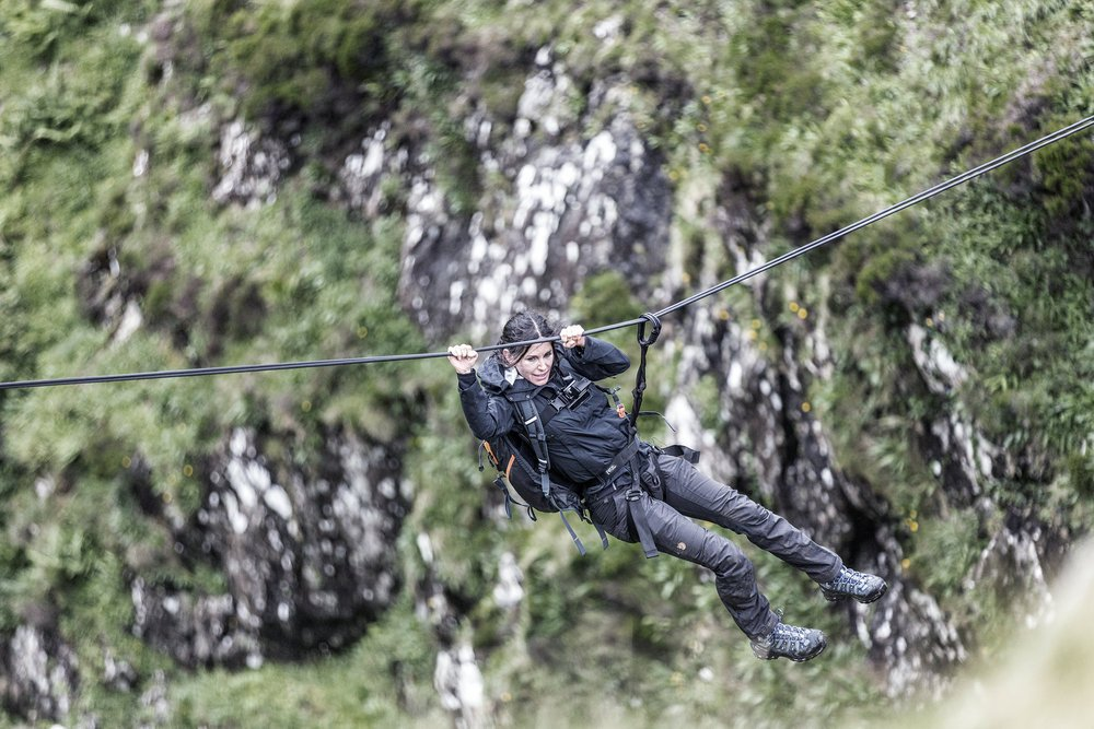 And, yes, it was scary! #RunningWild @NBCRunningWild https://t.co/bjMwyB3rYS