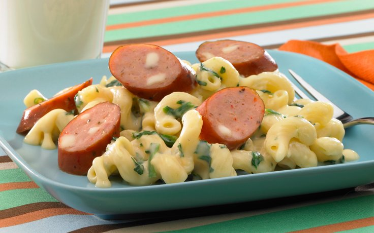 Mac & Cheese w/@Johnsonville Chicken Sausage -OMG.  My kids would love. https://t.co/NBCiqHKA77 #BackToRoutineMeals https://t.co/xEKVSv1DLt