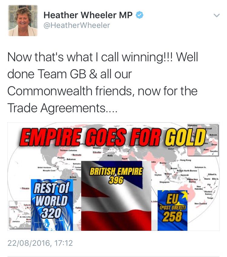 Tory MP @HeatherWheeler clearly has no idea about...well, anything. What an idiotic thing to say! https://t.co/1p2r5bvwaq