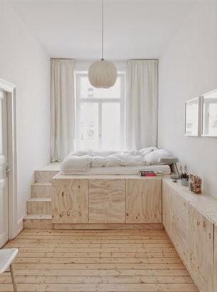 Las camas ocupan un espacio fijo, pero son usadas un tercio del día. Mirá cómo sacar provecho a esa superficie: https://t.co/dpihc40wbC