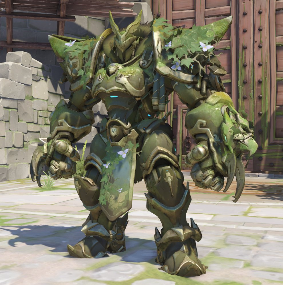 The new Reinhardt skins, straight from the PTR. https://t.co/KbcjsttZmy