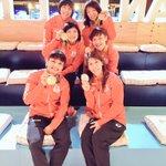 リオのオリンピックが閉幕しました!皆さん、沢山の応援本当にありがとうございました!そして沢山のメッセージもありがとうございました!笑顔で日本に帰ります😊 https://t.co/yCcMXFc2pm