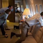 Obama was flying through Nigeria with his crew and they decided to check the change Buhari promised Nigerians. https://t.co/X2xf0JQ6VC