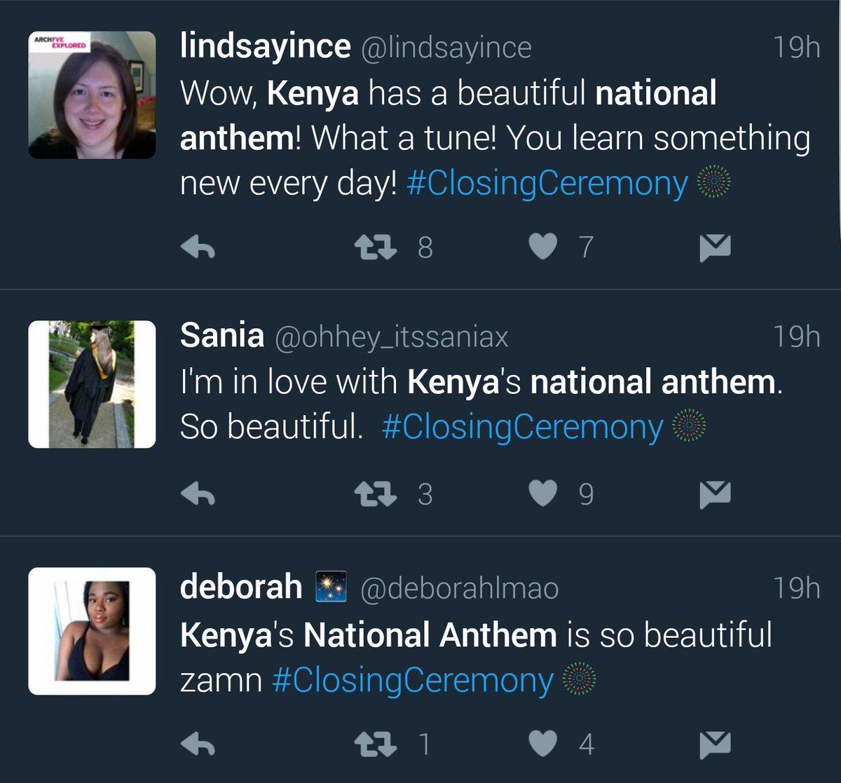 Oh wow ✊✊ RT @wwaibochi: THIS MAKES ME SO HAPPY  #Rio2016 #Kenya https://t.co/NkolY6J3r2