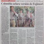 Al día siguiente gobierno de Colombia aclaraba versión de Fujimori sobre que el mérito era exclusivo del SIN. https://t.co/03RsvPHn44