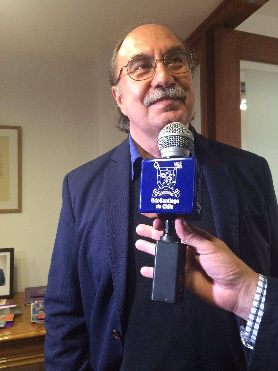 """Julio Pinto, Premio Nacional de Historia: """"Es un privilegio, muchas gracias por el apoyo de mi Universidad, @usach"""" https://t.co/VfXk7houhd"""