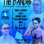 #TheBando --- Friday Aug 26th 📅 Live Music + Art 🔑 Performances by @3TBrax, @LilCosweat, @its_nilly + more 🔥🔥🔥 https://t.co/3S8ImgsLRB