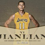@Lakers on Mon announced signing of Chinese basketball star #YiJianlian, who averaged 20.4 points at #Rio2016 https://t.co/f9yROfZC58