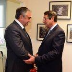 NOW: @AnastasiadesCY and @MustafaAkinci_1 are meeting under the auspices of @EspenBarthEide. #Cyprus https://t.co/XAg6h2EY6W