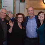 Lots of support for #bcndp #Kamloops @BNederpel. Known by the company she keeps including @jjhorgan #bcpoli https://t.co/T1j1QR8vCO