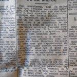 23 août 1944. Libération de Montpellier. 1er numéro du journal libre publié. Article sur la mort de Jean Guizonnier, https://t.co/CD14g9wuGv