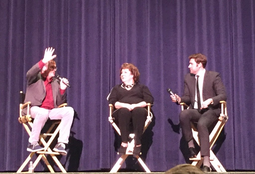 Q&A with John Krasinski and Margo Martindale after the BEST movie The Hollars. @AnnaKendrick47 + @joshgroban rocked! https://t.co/gNIYVvw4mz