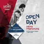 Το #Πανεπιστήμιο #UCLanCyprus διοργανώνει #ΜέραΓνωριμίας και προσφέρει 2 #Υποτροφίες! https://t.co/0wNY96qeg1 https://t.co/SNnMpCv0yy