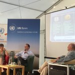 Day 2 of UNSA 2016 starts with a panel discussion on Germanys role in implementing the Agenda 2030 @unsummeracademy https://t.co/QFsNt16vkv