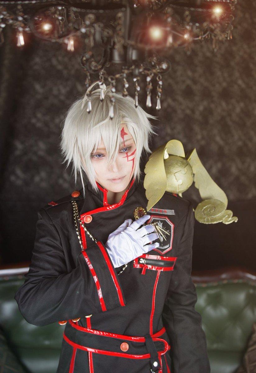 【COSPLAY/D.Gray-man】アレン/葎さんラビ/ズミphoto/バジーナ