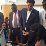 @UNYouthEnvoy engaging a young Web designer at Abuja Enterprise Agency. #UNEnvoy9ja #InvestinGirls @UNFPANigeria https://t.co/49fRdwm0vs