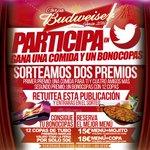 Participa en el sorteo de 1 bonocopas y 1 comida para ti y 4 amigos más el miércoles 14 de sept. Solo haz RT y listo https://t.co/GtOFtfJK3v