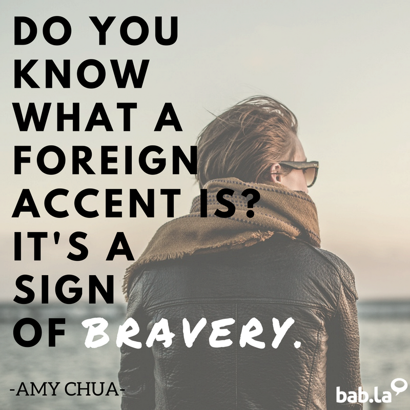 Never make fun of someone's foreign accent – it means they know a second language. #QuoteOfTheDay https://t.co/dBGNB07dSl