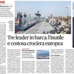 """#Renzi #Merkel #Holland : hanno fatto un """"buco nellacqua"""" che ci è costato un """"occhio della testa"""" a #Ventotene ... https://t.co/jrbZ0E6qmP"""