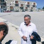 Visite chantier terrain tritons réhabilité. @saurel2014 fait le point sur les investissements importants #Mosson https://t.co/VfqvW8M7Rf