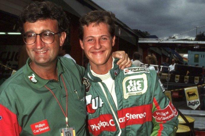La foto hará caer algunas lágrimas. Hace 25 años debutaba Michael Schumacher en las libres del viernes. Vía @ivanf1 https://t.co/765LarjJZT