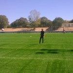 1ere partie de foot entre @saurel2014  @fabienabert @deverbizier sur le terrain mosson2 remis en synthetique  #sport https://t.co/1ujUfoPkpw